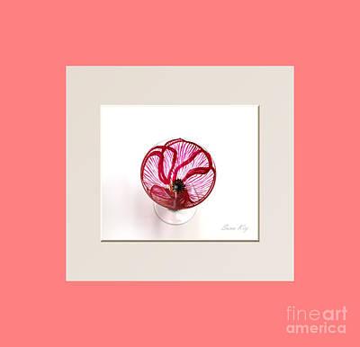 Poppy. Soul Inspirations Collection Art Print by Oksana Semenchenko