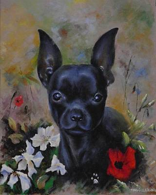 Painting - Poppy by Tony Calleja