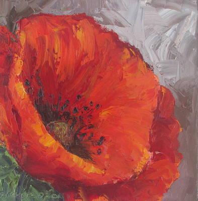 Poppy1 Art Print by Susan Richardson