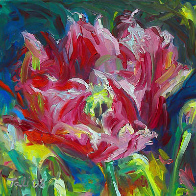 Painting - Poppy's Secret  by Talya Johnson