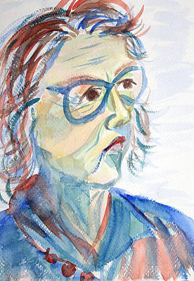 Painting - Popular Art Professor by Asha Carolyn Young