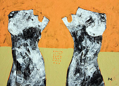 Outsider Art Painting - Populus No. 4 by Mark M  Mellon