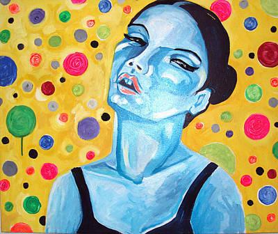 Contemporain Art Painting - Por Art Erotic by Raquel Sarangello