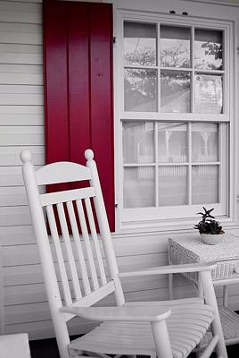 Porch Dreams Art Print by JAMART Photography