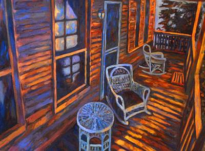Painting - Porch  by Kendall Kessler