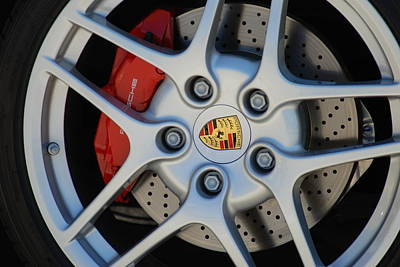Western Art - Porche wheels by Optical Playground By MP Ray