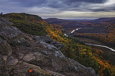 Porcupine Digital Art - Porcupine Mountain View From The Goats Trail by Dennis Buchner