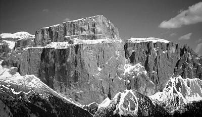 Photograph - Pordoi Joch - Italy by Juergen Weiss