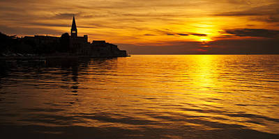 Porec Sunset Art Print