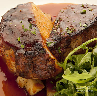 Photograph - Pork Chop by New  Orleans Food