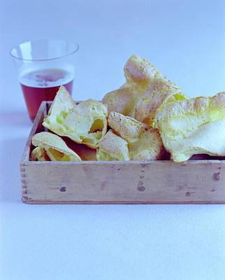 Cooking Photograph - Pork Rinds With A Pint by Romulo Yanes