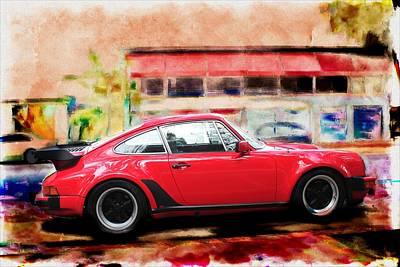Photograph - Porsche Series 01 by Carlos Diaz