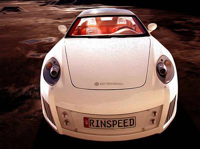 Ultimate Luxury Digital Art - Porsche 1 by Lanjee Chee