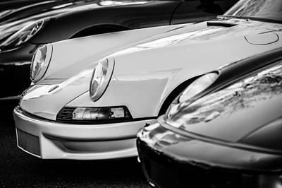 Photograph - Porsche -1277bw by Jill Reger