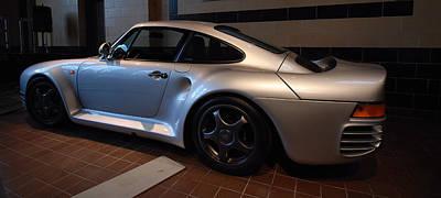 Photograph - Porsche 1987 959 by John Schneider