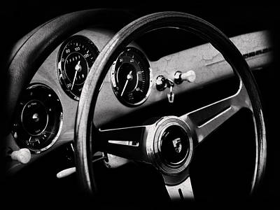 Classic Porsche 356 Photograph - Porsche 356 Interior by Mark Rogan