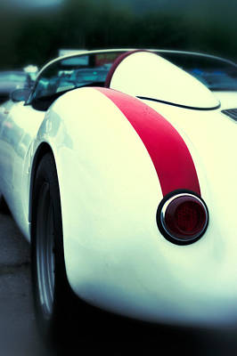 Race Drivers Photograph - Porsche 550 by Scott Wyatt