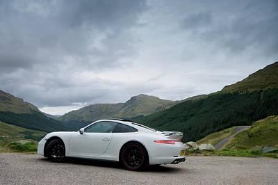 Photograph - Porsche 911 C4s by Stephen Taylor