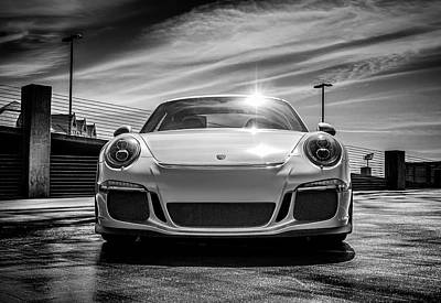 Performance Digital Art - Porsche 911 Gt3 by Douglas Pittman