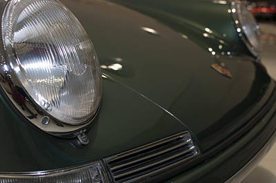 Photograph - Porsche 911 At A Museum by Miguel Winterpacht