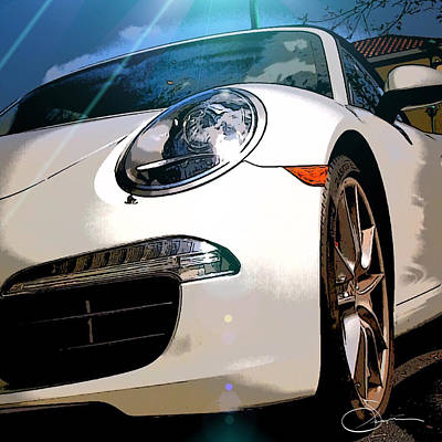 Photograph - Porsche 911 by Robert Smith
