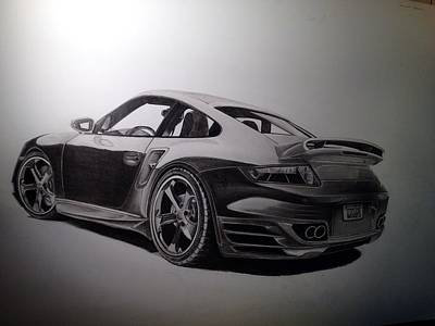 Fast Car Drawings (Page #4 of 6) | Fine Art America