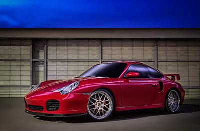 Twins Digital Art - Porsche 911 Twin Turbo by Douglas Pittman