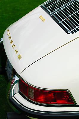 1967 Porsche 911s Taillight Emblem Art Print