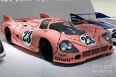 Porsche 917 20 Coupe Art Print