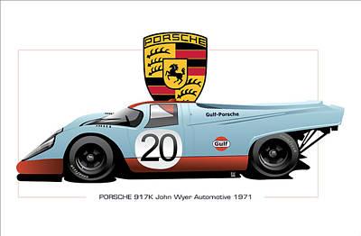 Porsche 917 K Original by Ron Riffle