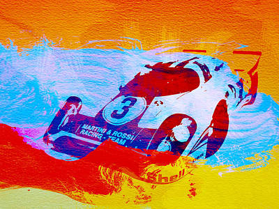 Martini Painting - Porsche 917 Martini And Rossi by Naxart Studio