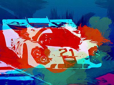 Concept Photograph - Porsche 917 Racing 1 by Naxart Studio