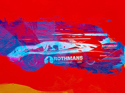 German Classic Cars Photograph - Porsche 917 Rothmans 4 by Naxart Studio
