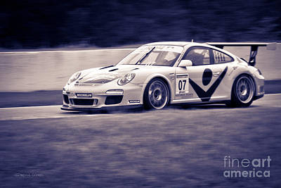 Andretti Photograph - Porsche Carrera In Gt3 Cup Challenge 2014 by Gordon Wood