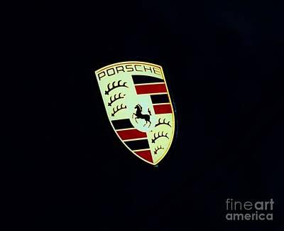Porsche Emblem 1 Print by Marcus Dagan