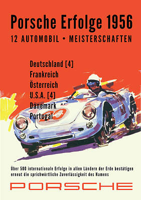 Digital Art - Porsche Erfolge by Gary Grayson