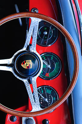 Porsche Iphone Case 1 Art Print by Jill Reger