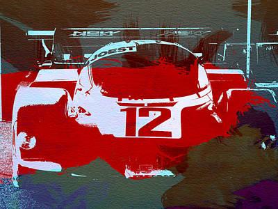 American Cars Photograph - Porsche Le Mans by Naxart Studio