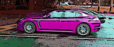 Photograph - Porsche Panamera Sedan by George Pedro