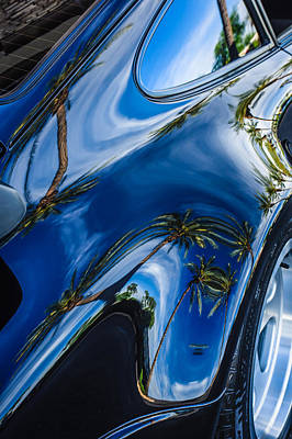 Photograph - Porsche Rear Fender by Jill Reger
