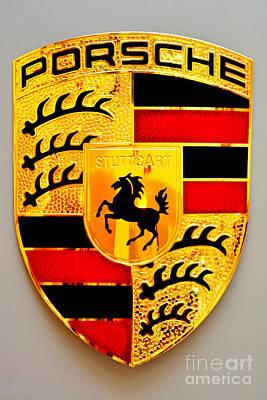 Photograph - Porsche Stuttgart by Andres LaBrada