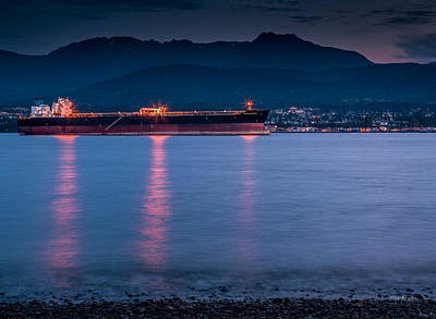 Photograph - Port Angeles Evening by Tim Bryan