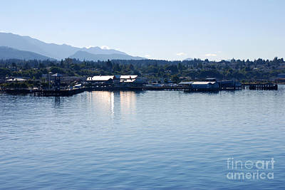 Photograph - Port Angeles Reflections by Connie Fox