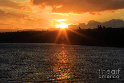 Photograph - Port Angeles Sunrise by Adam Jewell