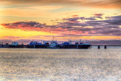 Photograph - Port Angeles Sunset by Heidi Smith
