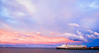 Photograph - Port Angeles Sunset by Niels Nielsen