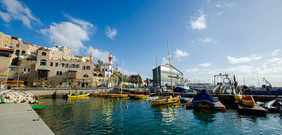 Photograph - Port At Jaffa by David Morefield