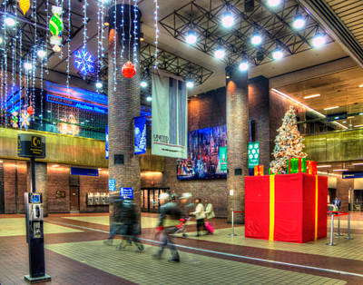 Photograph - Port Authority Christmas 001 by Jeff Stallard