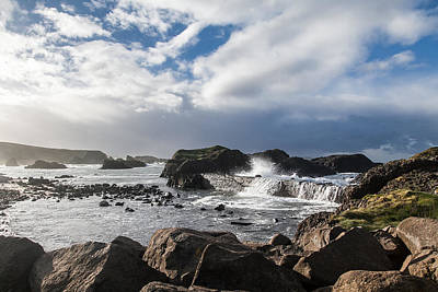 Photograph - Port Ballintoy by George Pennock