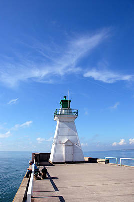 Photograph - Port Dover Light by John Jacquemain